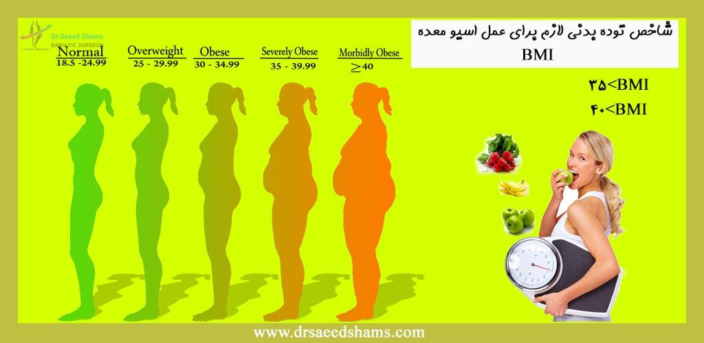 شاخص توده بدن BMI