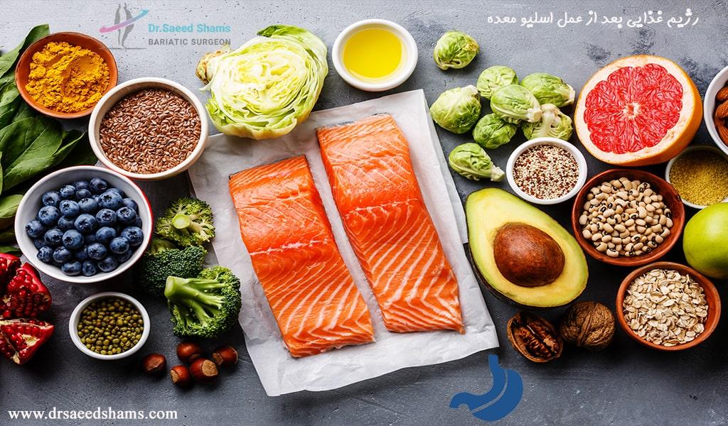 رژیم غذایی پس از عمل اسلیو معده