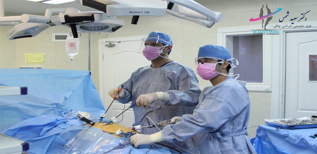 هزینه عمل اسلیو معده در بیمارستان نیکان