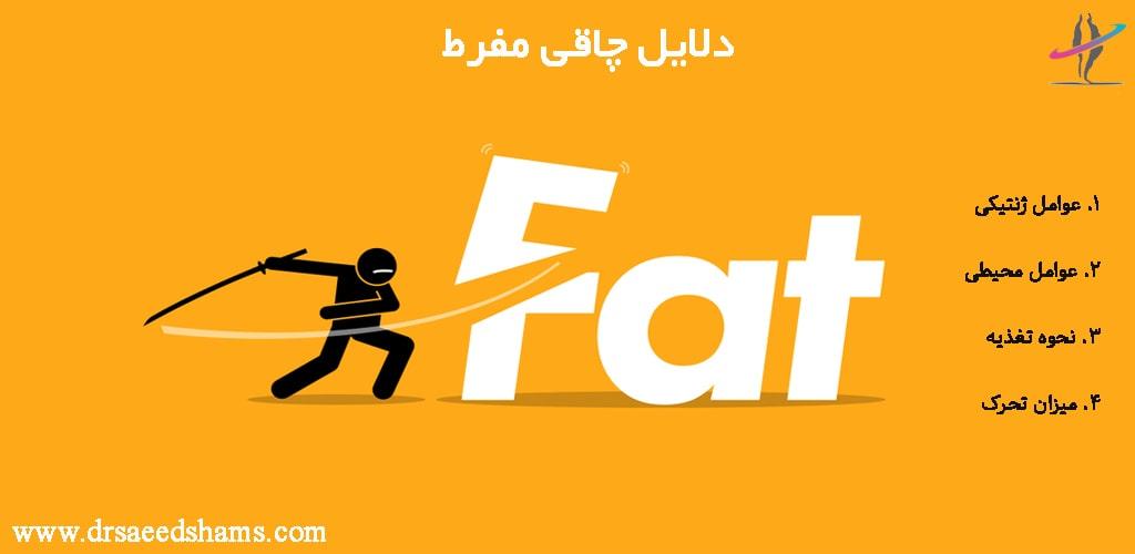 دلایل چاقی مفرط