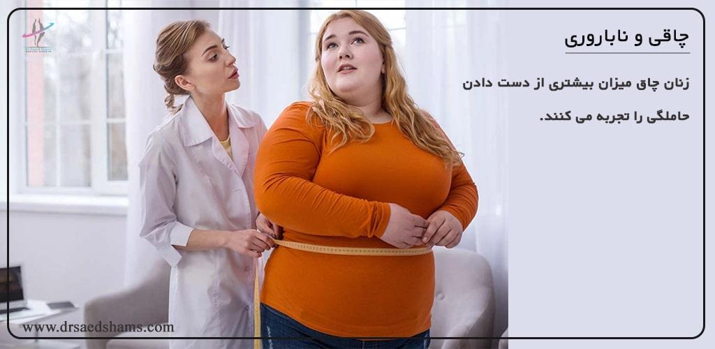 چاقی و بارداری زنان